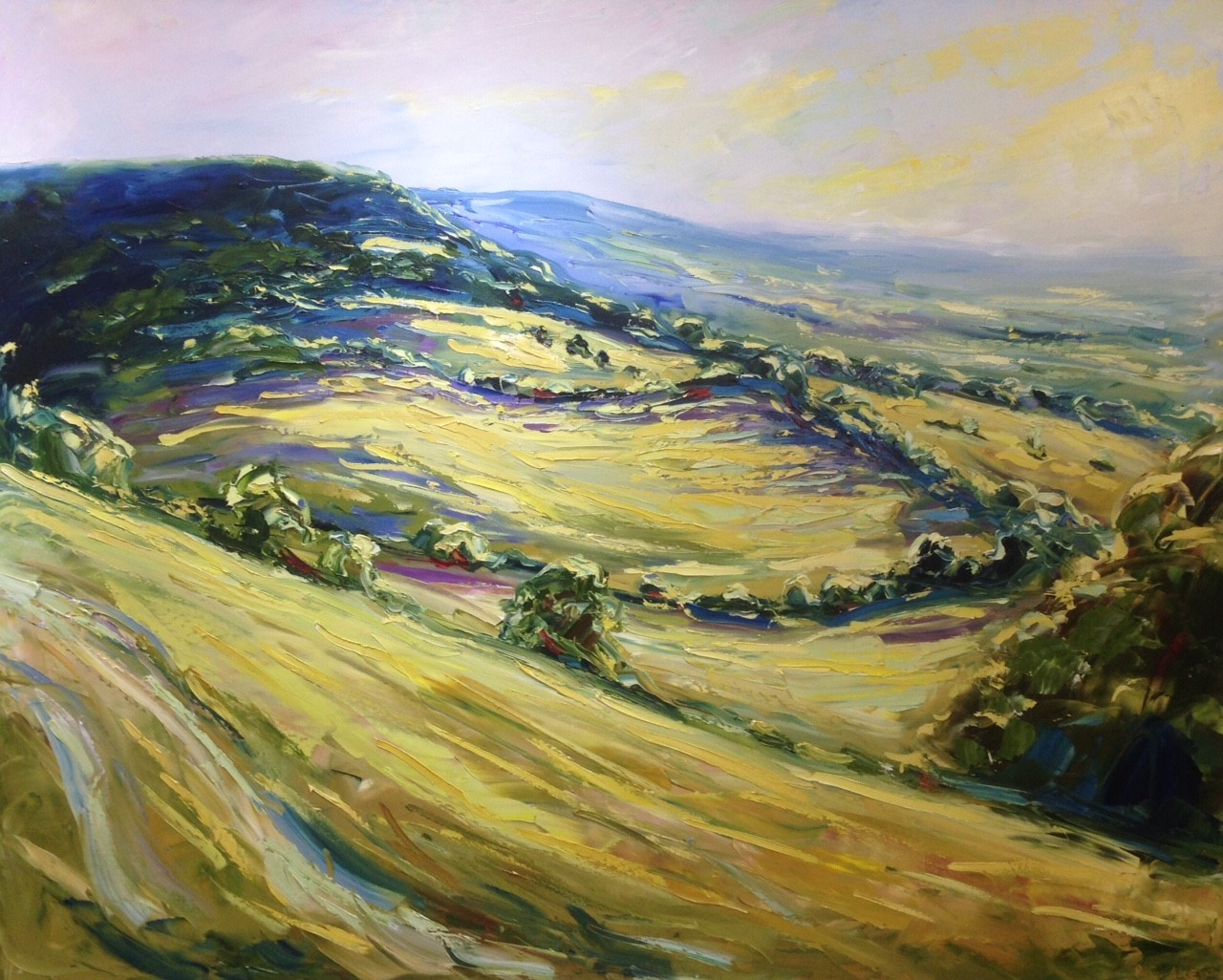 'Cotswold' An exhibition of paintings by Rupert Aker