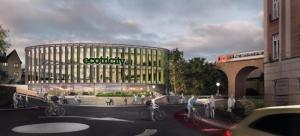 Stroud News and Journal: Ecotricity unveils radical new designs for old tax office and Imperial House in Stroud