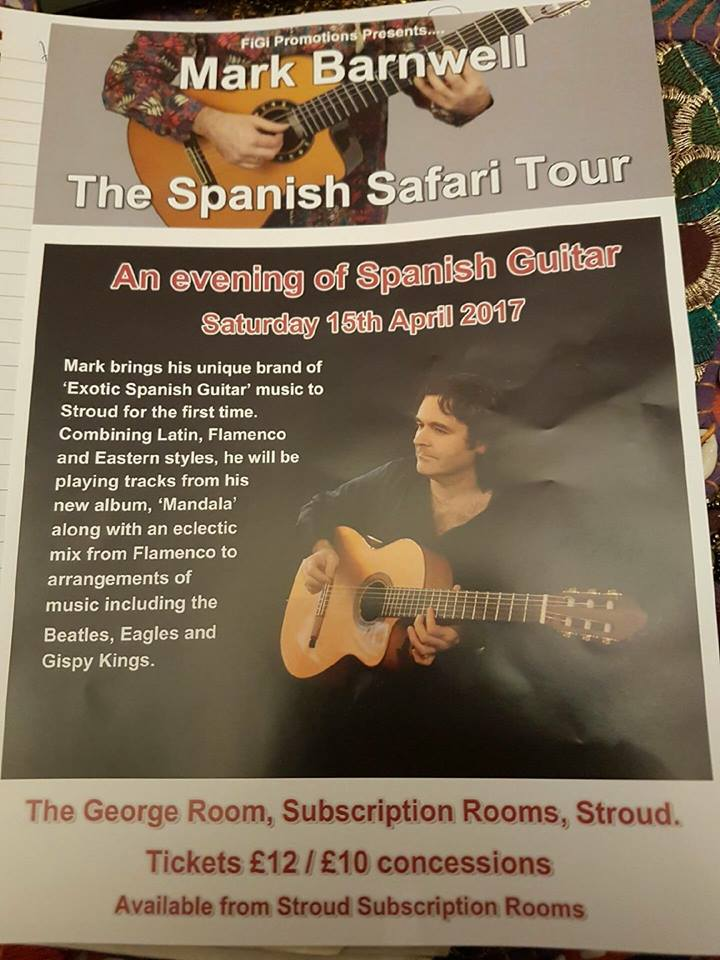 The exotic Spanish guitar music enthusiast will showcase his talents at The George Room for the first time.