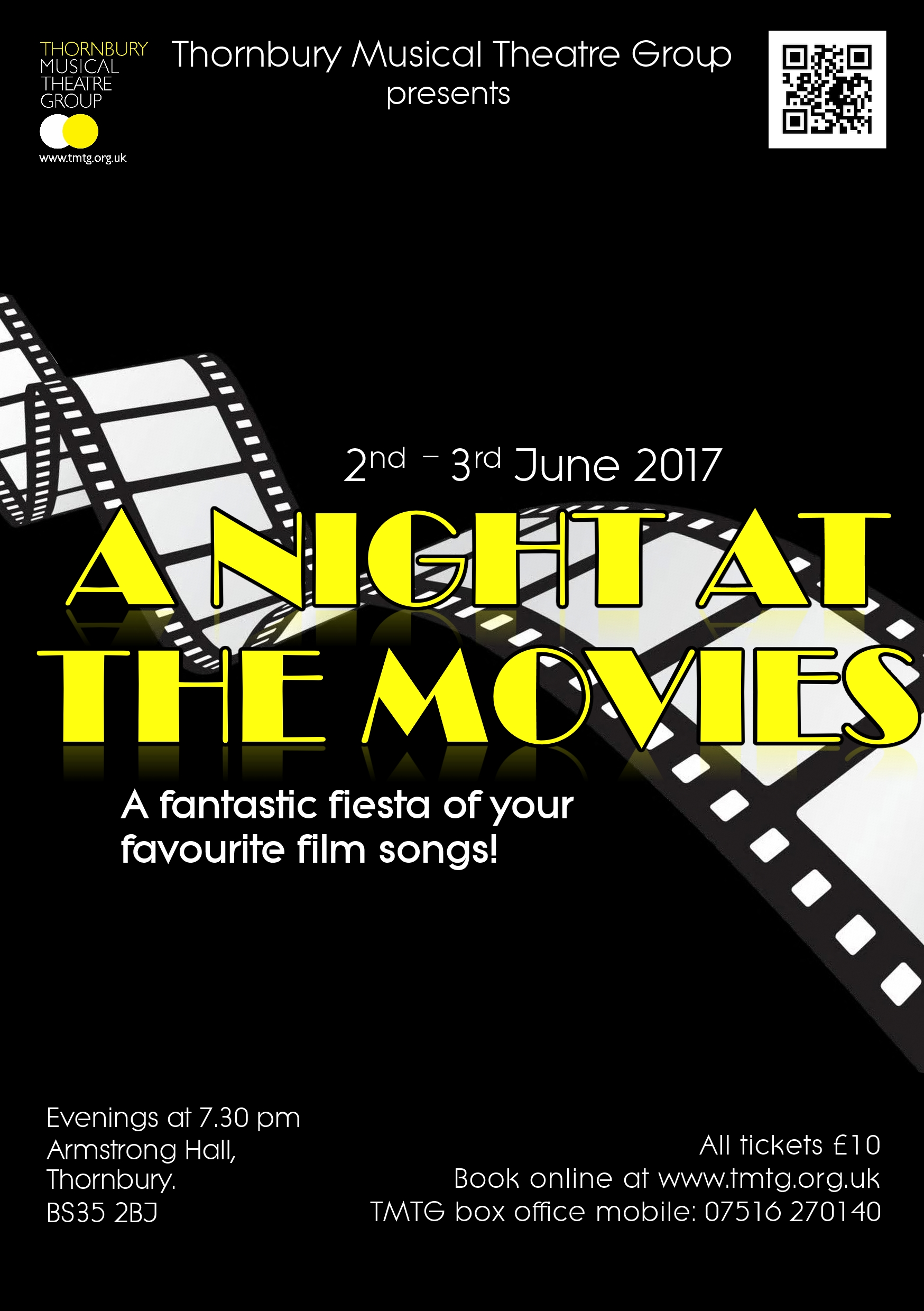 "TMTG presents ""A Night at the Movies"""
