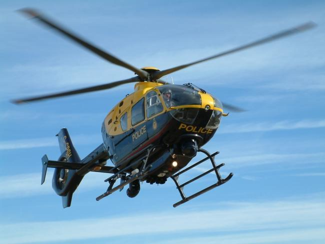 Police helicopter and fire service called after report of explosive noise in Edge this morning