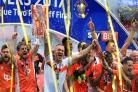 Blackpool win League Two promotion play-off despite off-field distractions