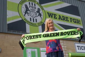 Stroud News and Journal: Helen Taylor announced as new chief executive of Forest Green Rovers