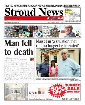 Stroud News and Journal: This week's front page - INQUEST: Death of Nailsworth rock climber Robert Barr who fell 130ft was…