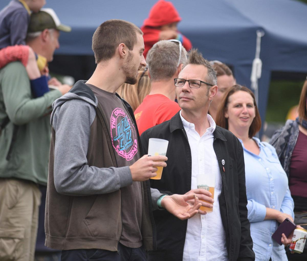 PICTURES: Dick and Dom entertain crowds at Chalfest 2017