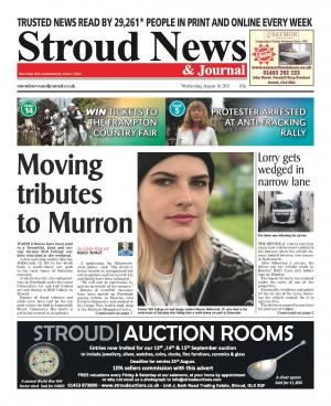 Stroud News and Journal: This week's front page - Warm tributes pour in to former SGS College art student Murron McDermid…
