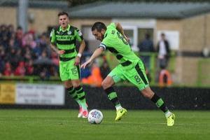 I'm raging, boo me not Charlie Cooper, says Forest Green captain Liam Noble