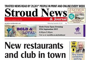 This week's front page - Stroud is booming thanks to new businesses