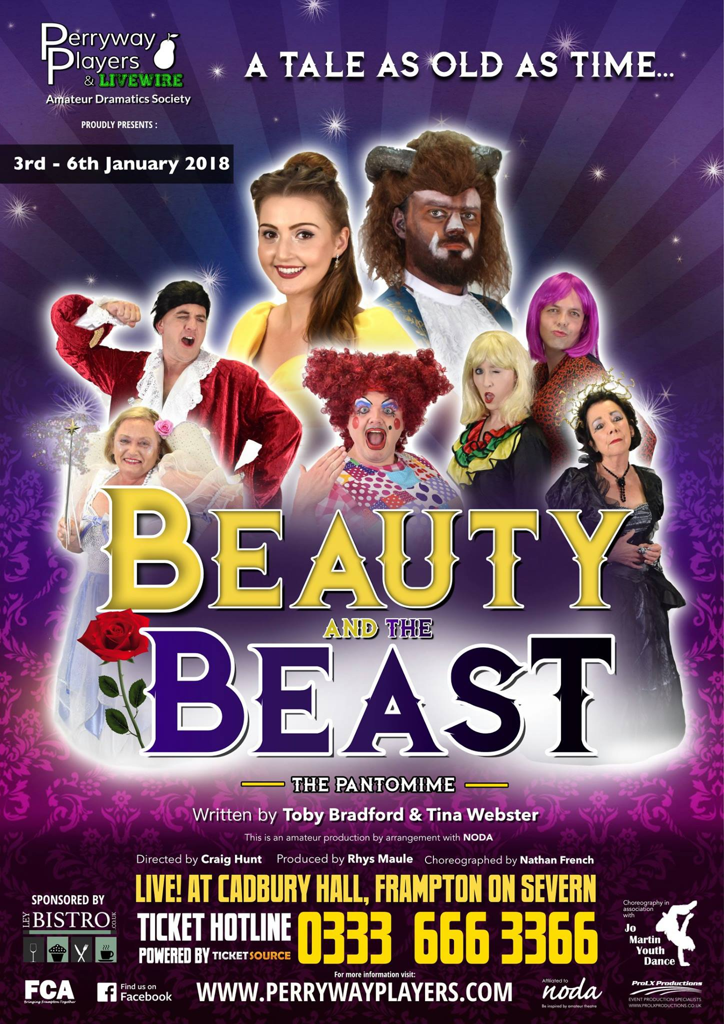 Beauty and the Beast - The Pantomime