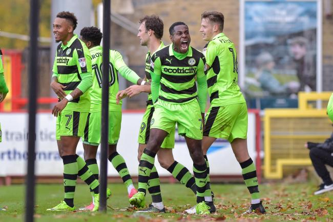 Forest Green 'taking each game as it comes' – Dale Bennett ...