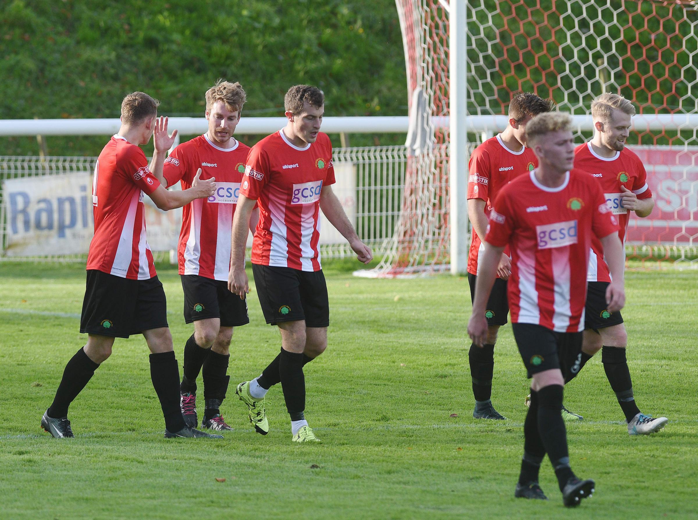 Shortwood leak three goals in mad six-minute first-half spell