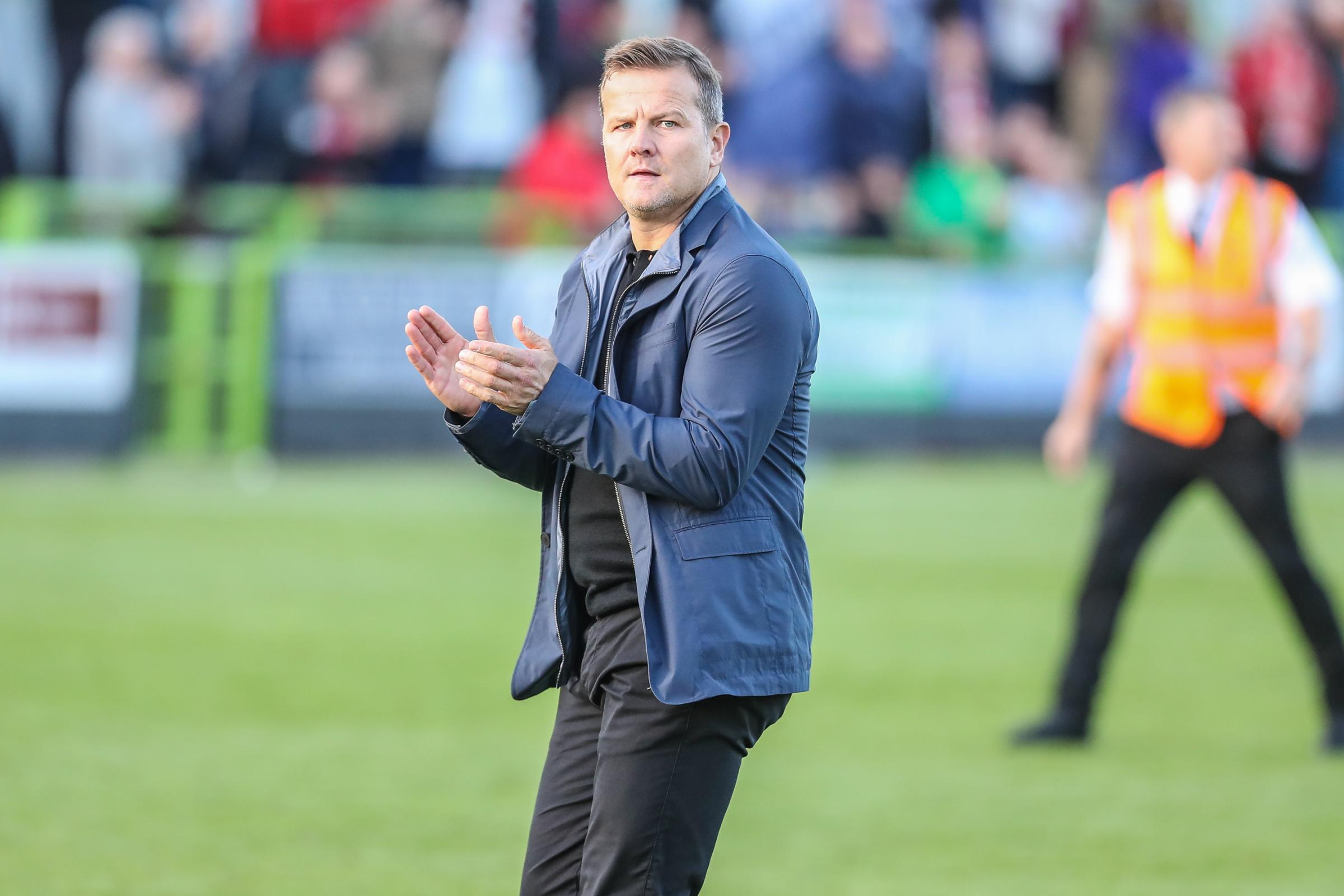 FGR boss Mark Cooper                                      Pics: Shane Healey/ Pro Sports Images