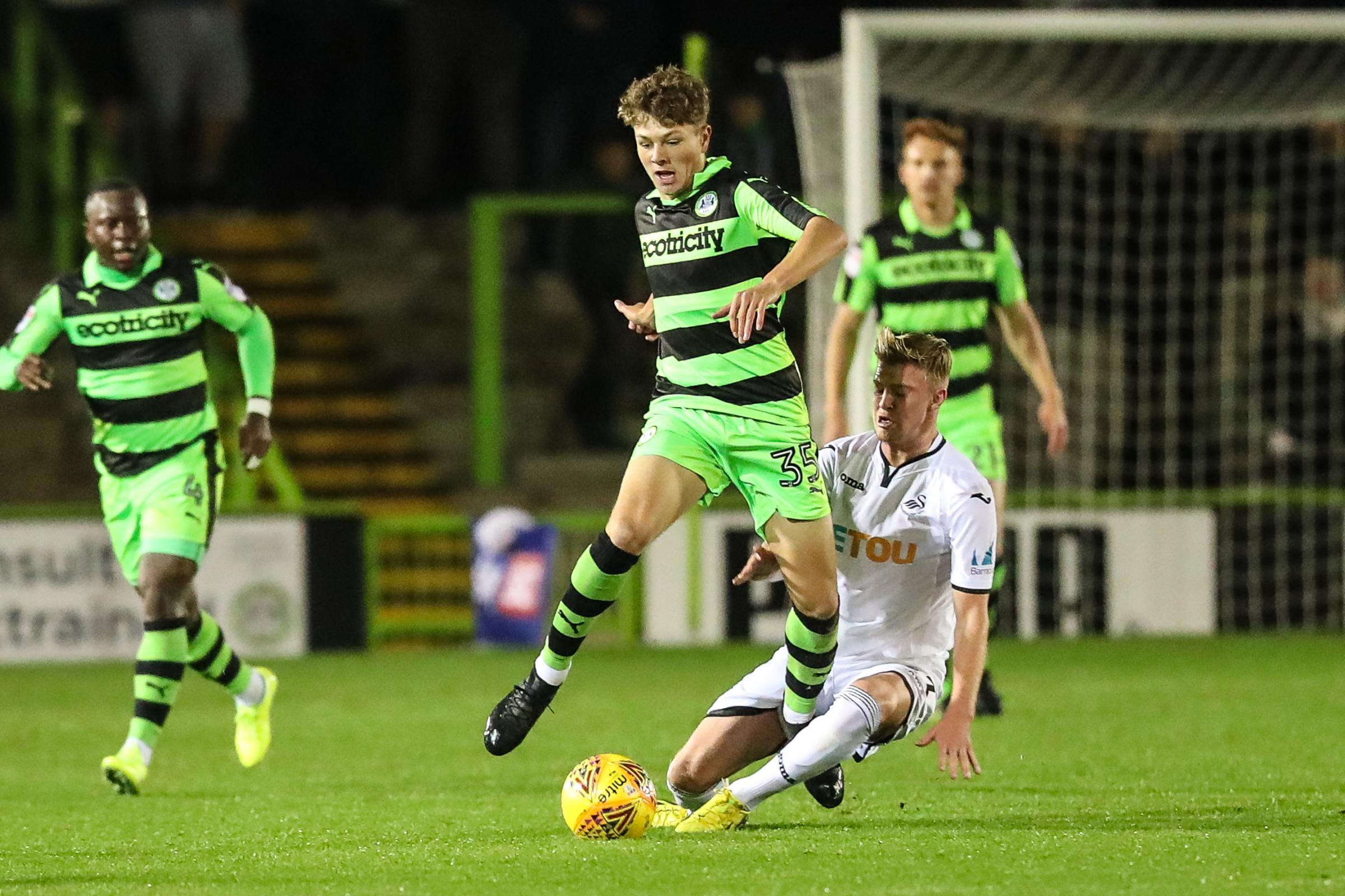 693b5f68493d44 VIDEO  Stevens has an opportunity to go as far as he wants in the game - Forest  Green boss Mark Cooper