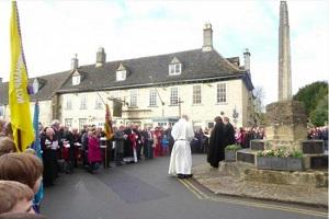 Parking wardens slap tickets on cars at Minchinhampton Remembrance service
