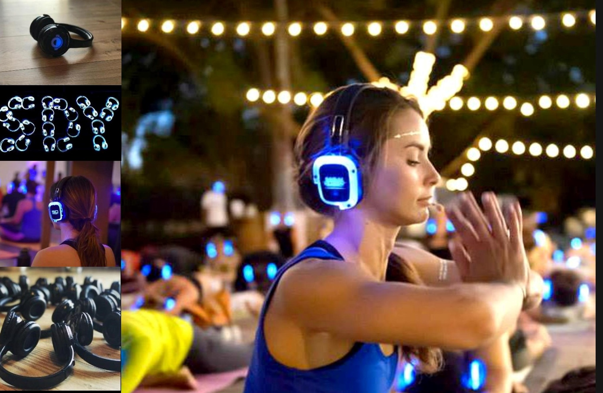 Silent disco yoga is coming to Stroud