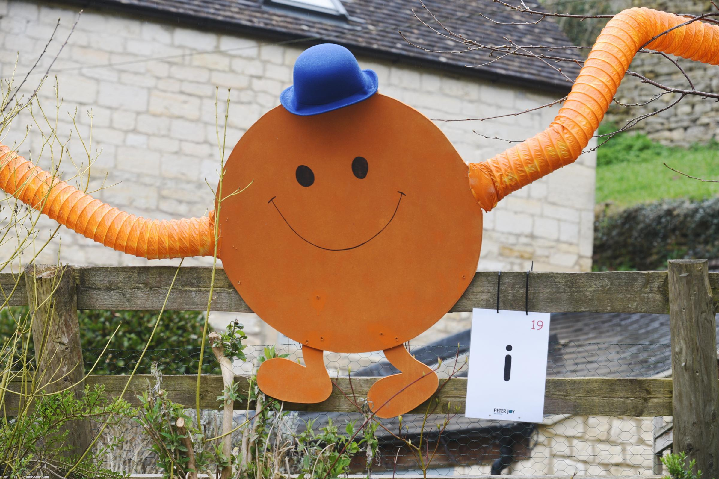 Mr Tickle Chalford scarecrow trail photograph Simon Pizzey