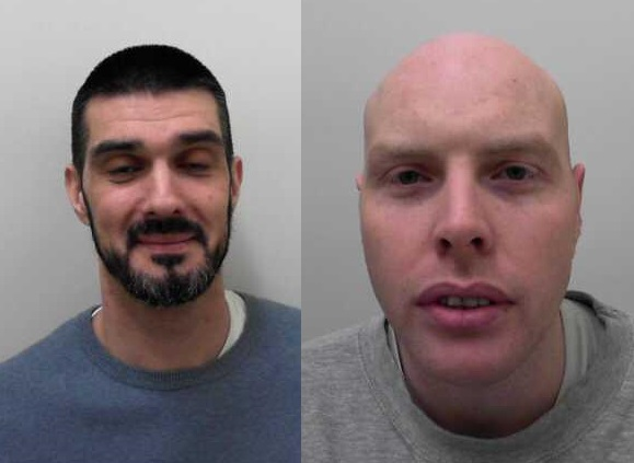 Absconders Daniel Hawkins and Robert Horan