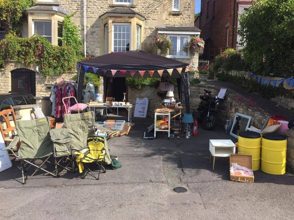 Last year's yard trail saw the town filled with stalls selling, or giving away, some stunning treasures