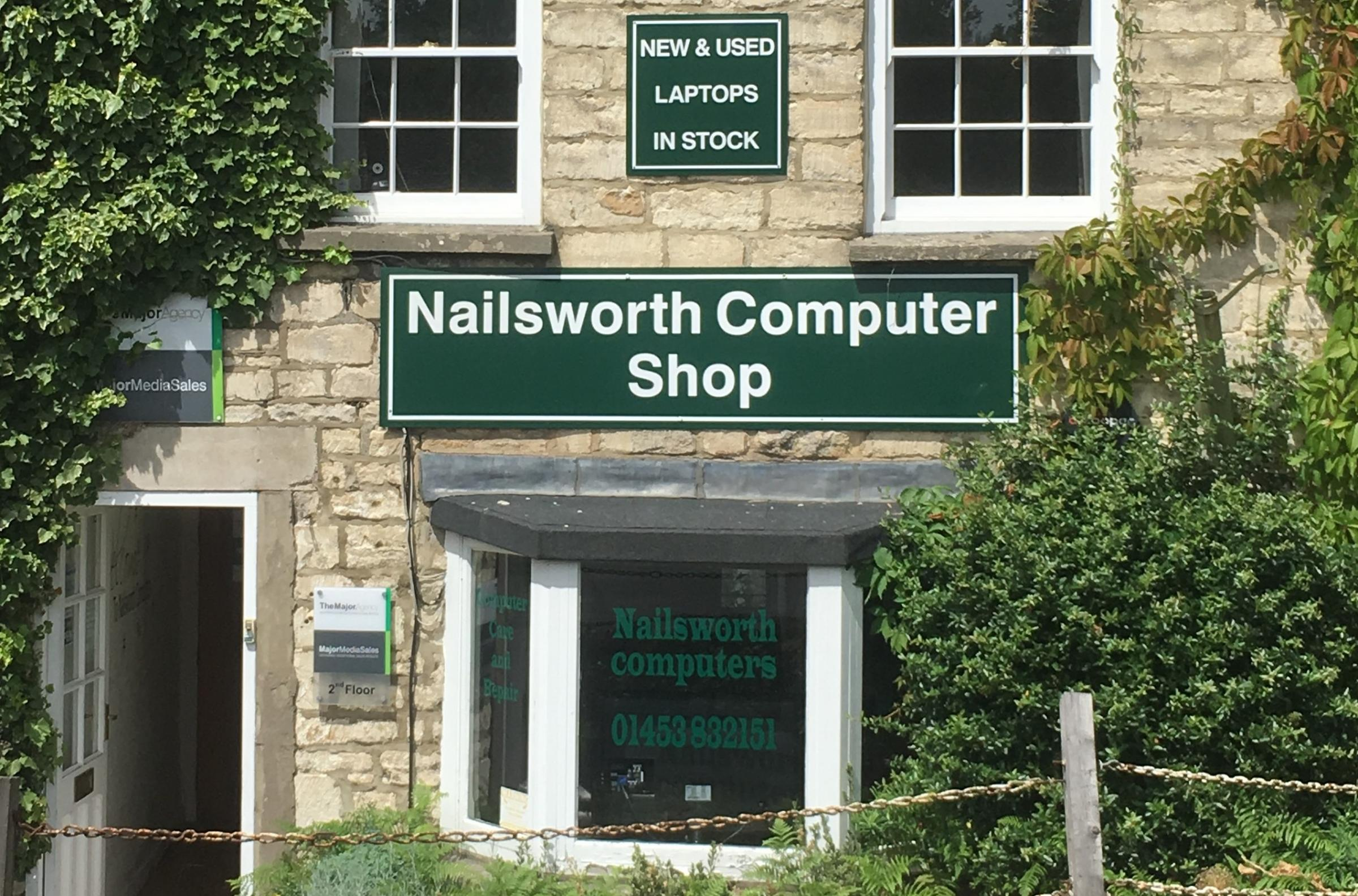 Nailsworth Computer Shop owner Paddy Coyle is warning people about a potential new phone scam