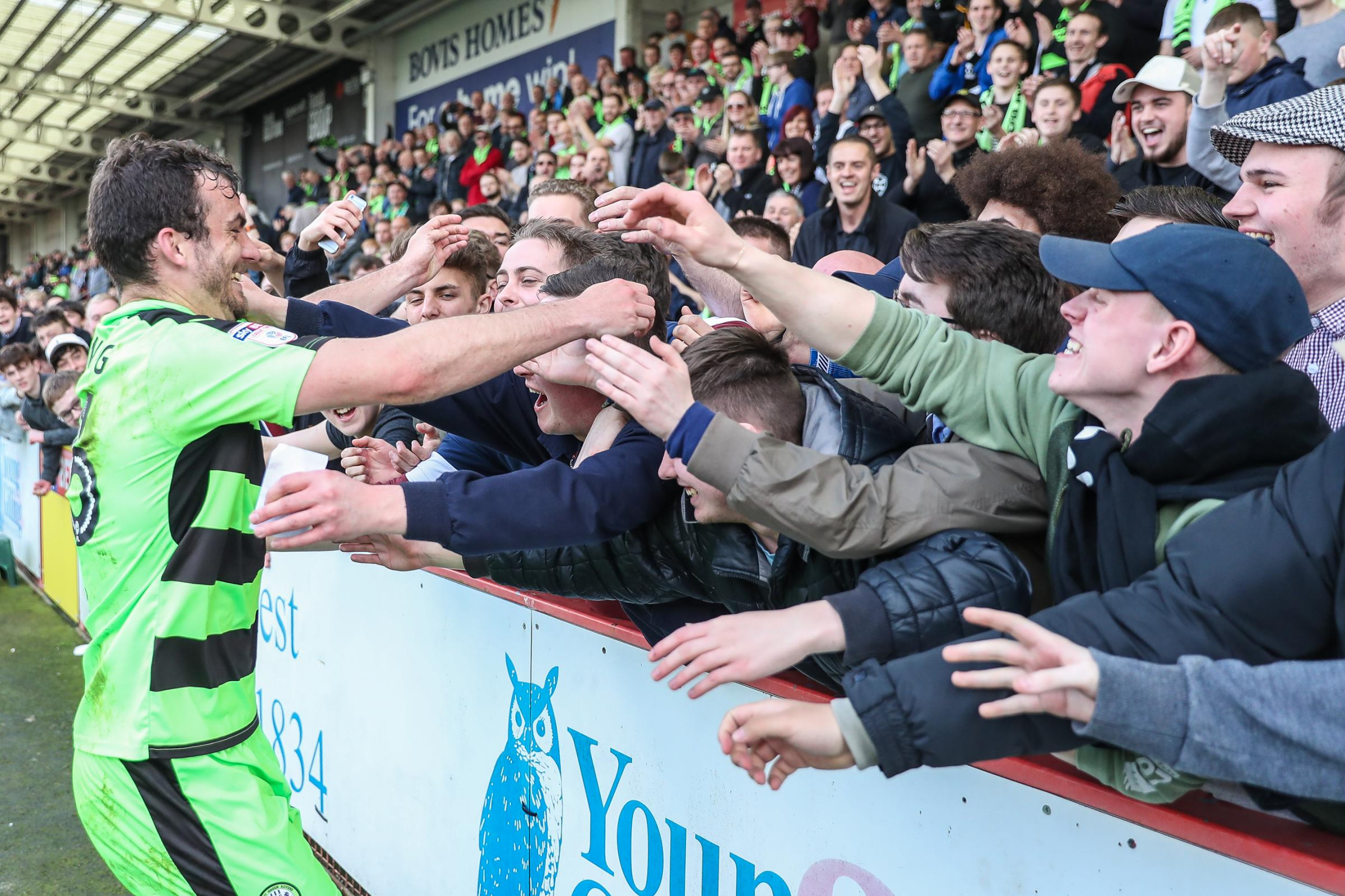 Vote for the Supporters' Player of The Season                           Pic: Shane Healey/ Pro Sports Images