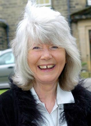 Happy birthday to Jilly Cooper