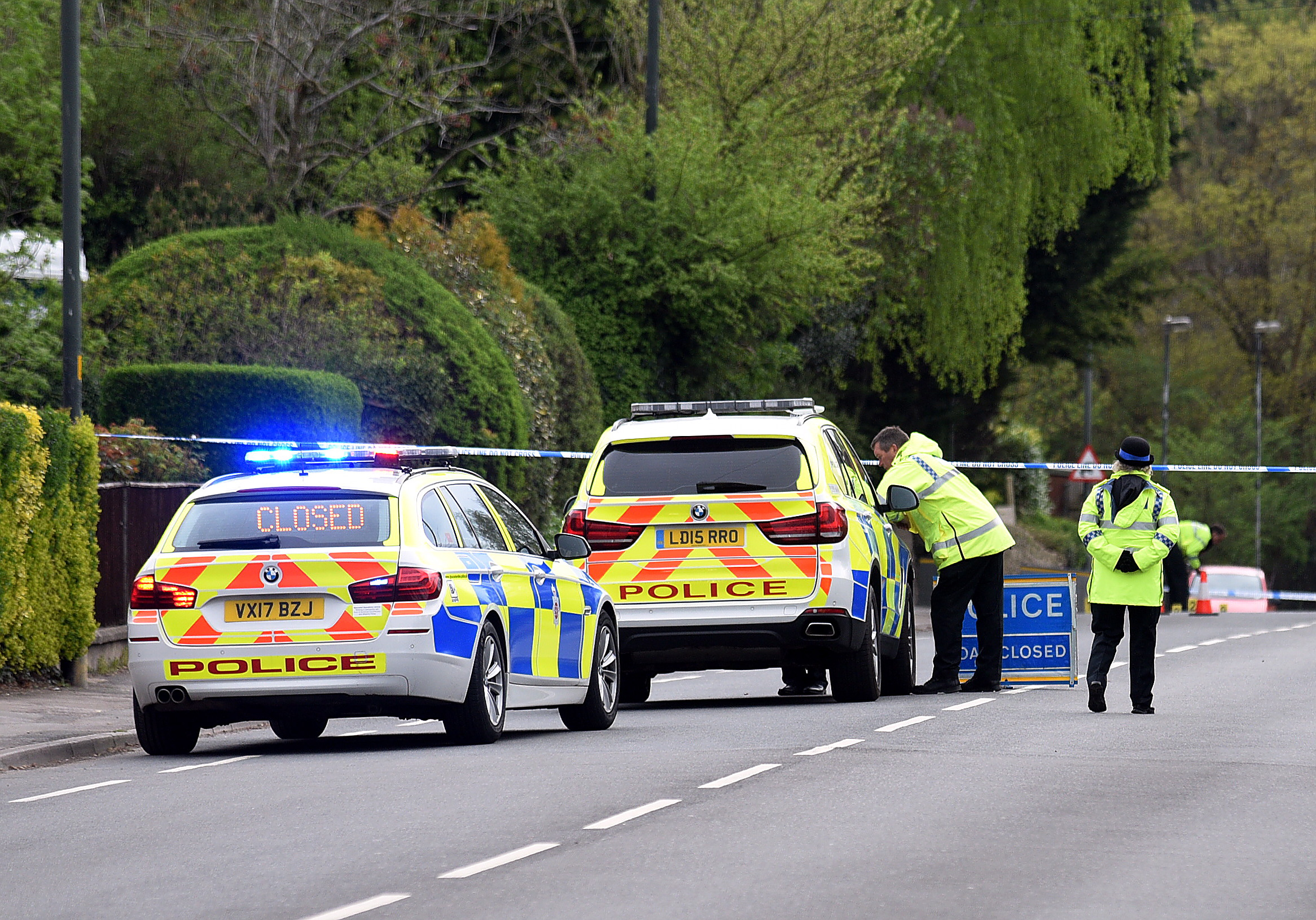 Cainscross Road is now reopened following this morning's police investigate an earlier incident involving a cyclist