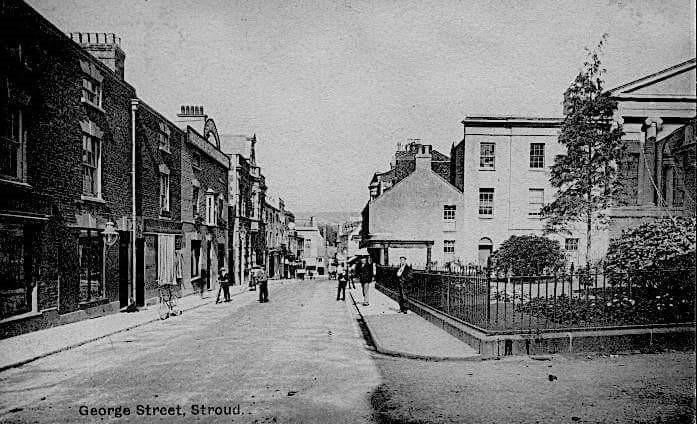 What was Stroud like during the interwar years? Photo credit: Stroud Area Photos & Cotswold Picture Postcards