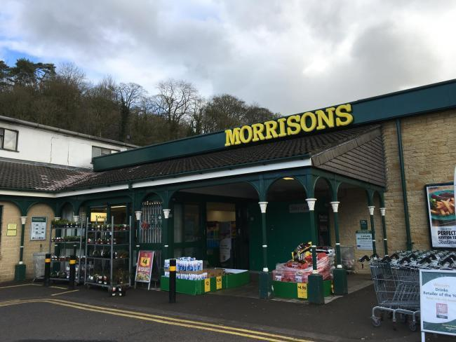 The Morrisons store in Nailsworth