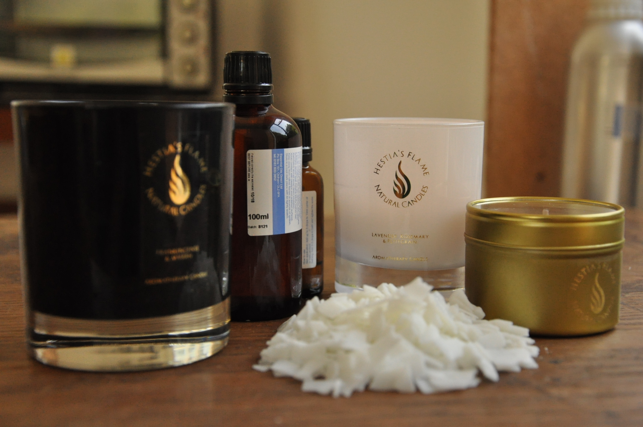 Aromatherapy Candle Making for Beginners with Sophia Russell