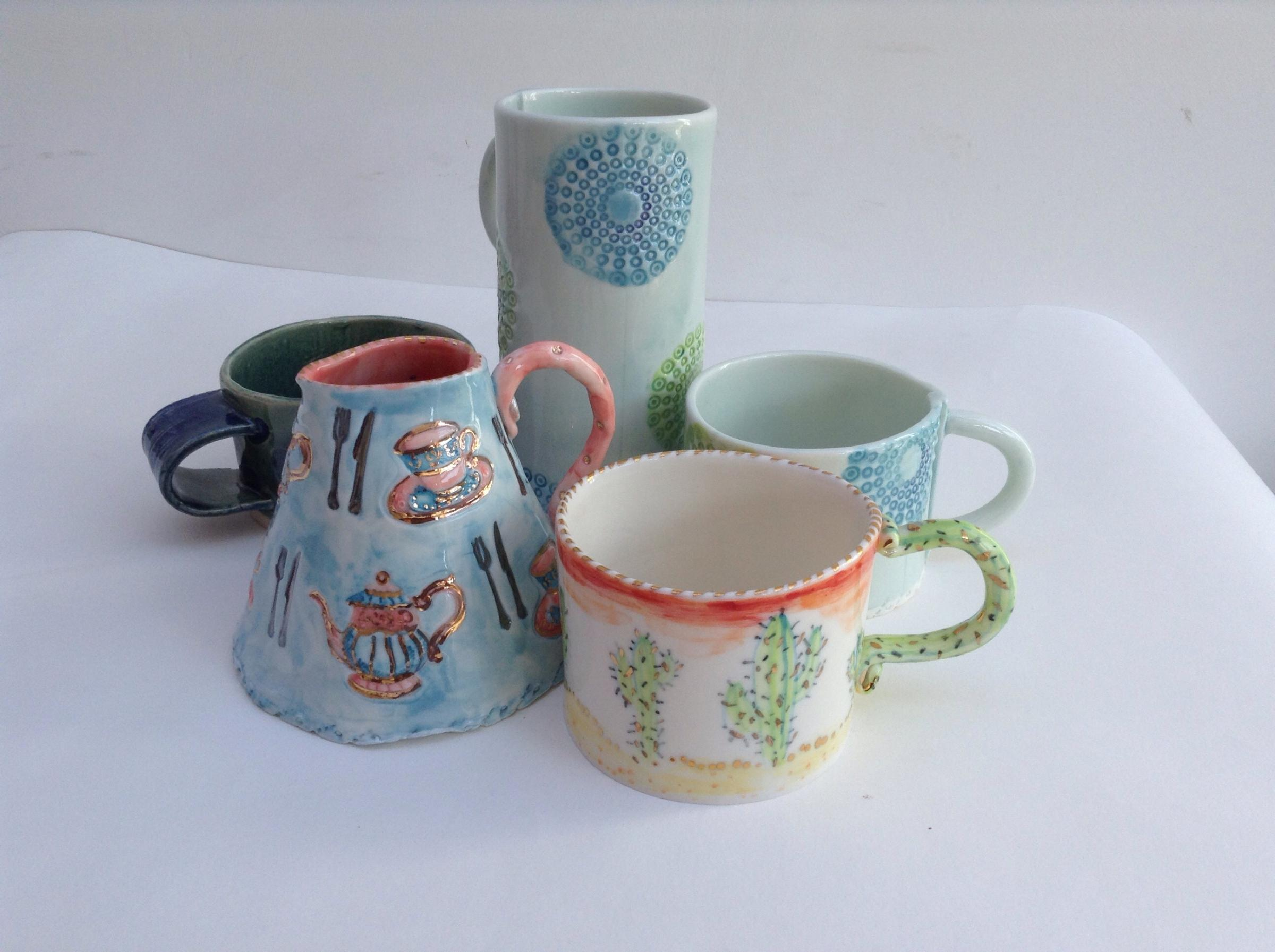 *Summer School* - Create a Ceramic Mug, Jug and Vase with Jackie White