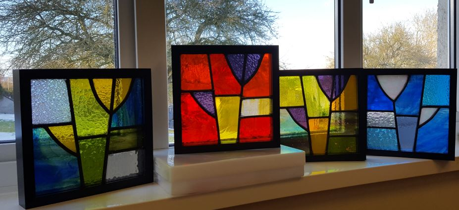 *Summer School* - Traditional Stained Glass Leaded Panel with Caroline Lambert