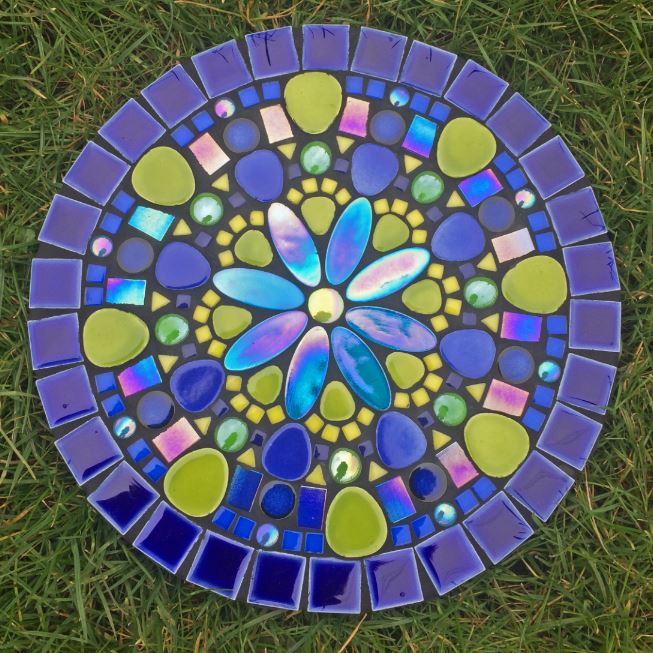 *Summer School* - Mandala Mosaic Stepping Stones with Yvette Green
