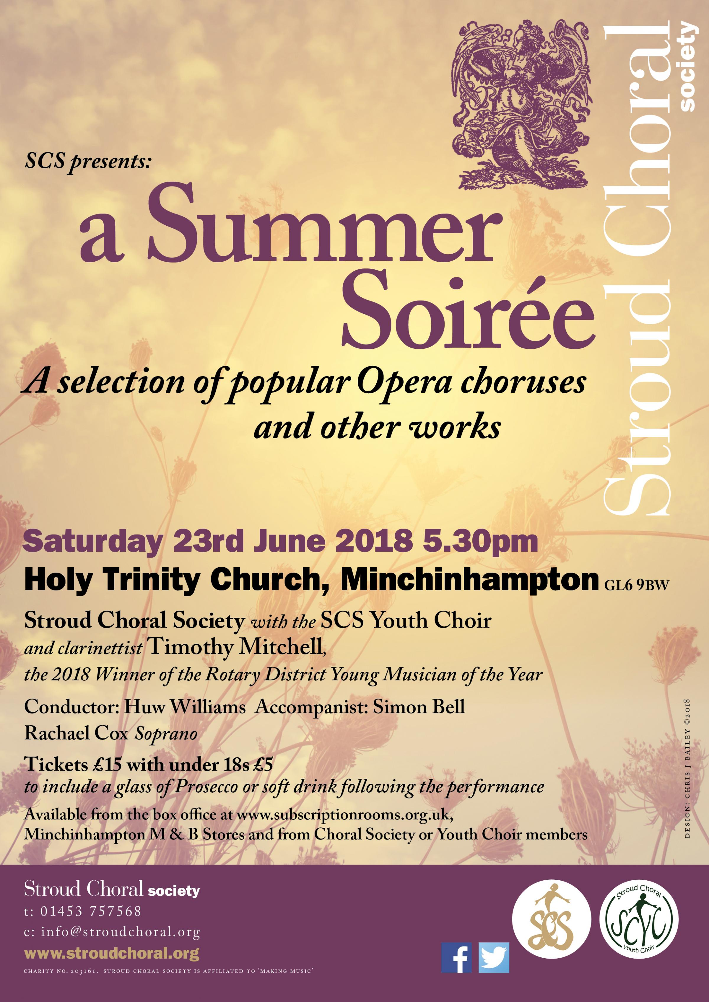 Stroud Choral Society's Summer Concert