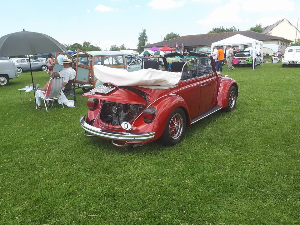 Photos from last years classic vehicle showing