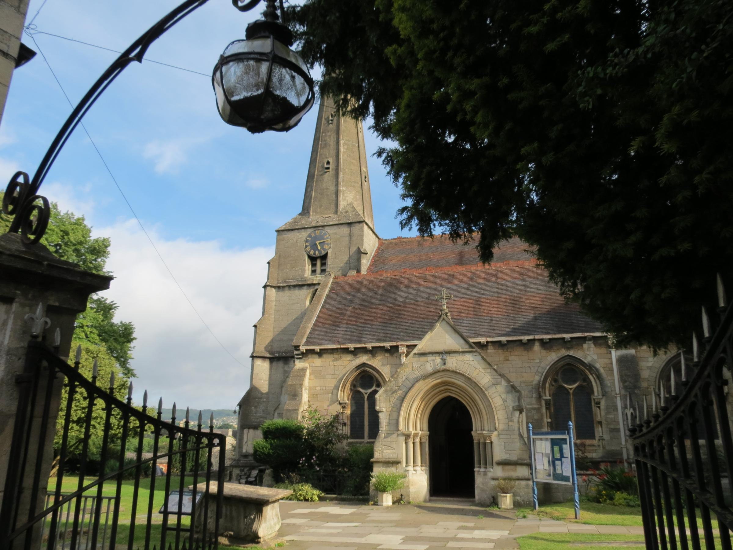 Saint Laurence Church in Stroud