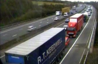 Delays on M5 from Stroud ahead of bank holiday break