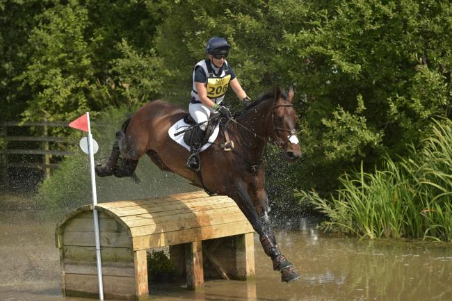 NAF International Hartbury Horse Trials Cross Country, 13, August, 2016, Hartbury College, Hartbury, Gloucestershire, England, CIC*** . 206 Laura Collett - Cooley Again     photo credit , PHIL JOHNSON/ EDP PHOTO