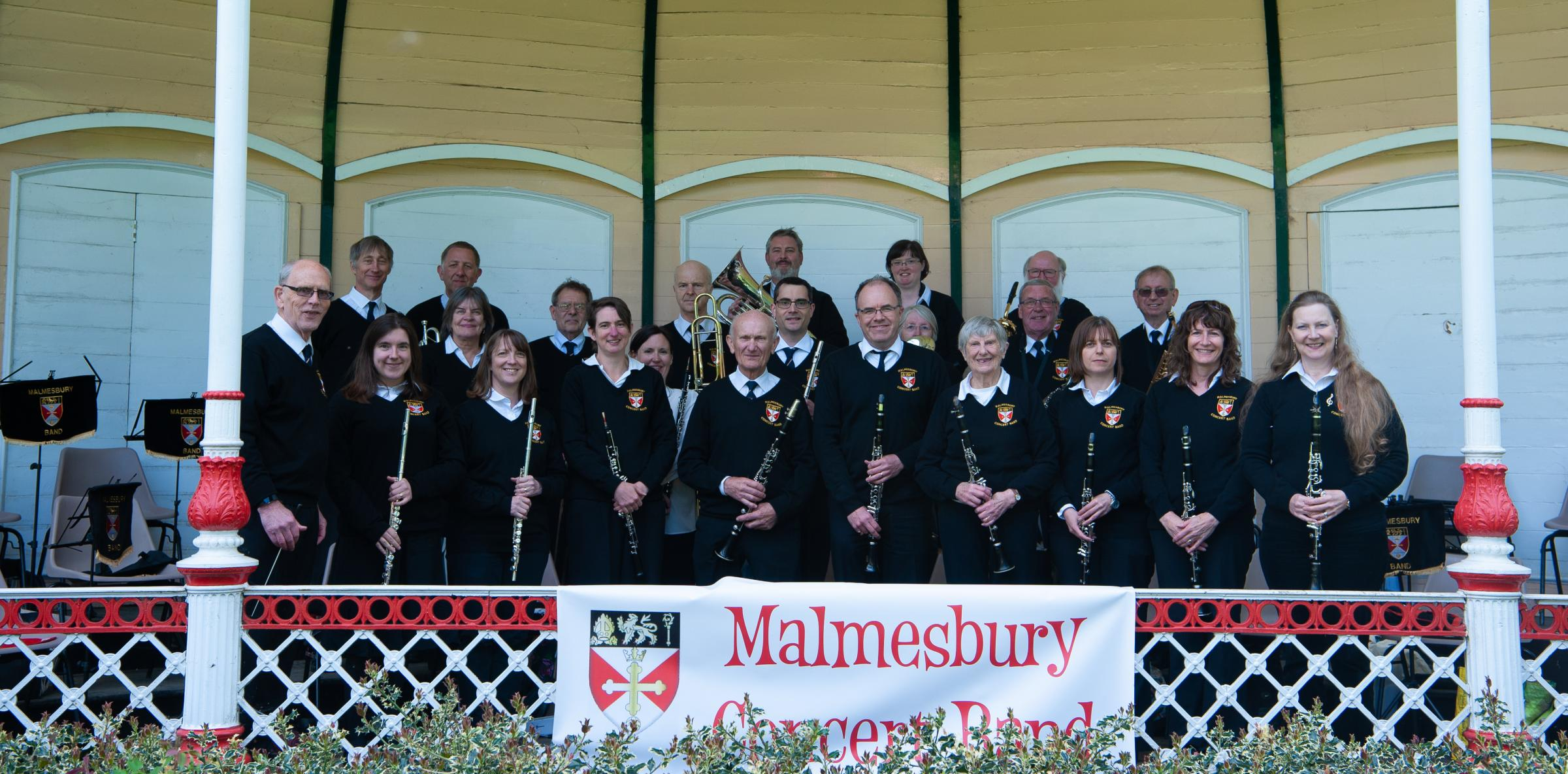 Malamesbury Concert Band. Photo by Stephen K Hyam