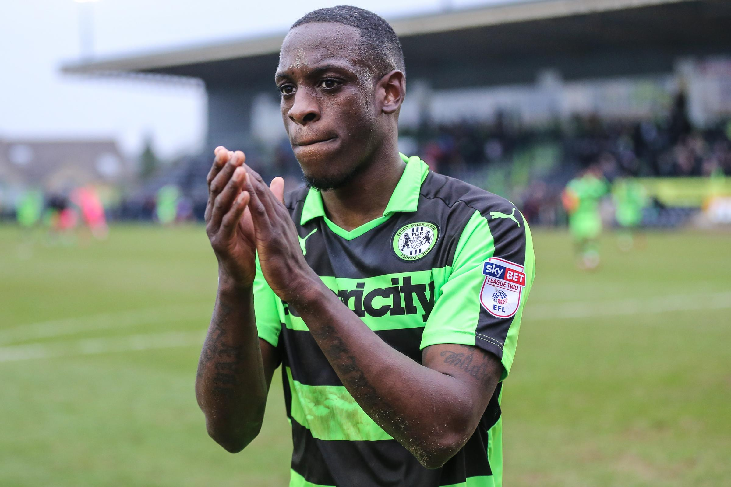 ISAIAH OSBOURNE has snubbed a contract offer from Forest Green                Pic: Shane Healey/ Pro Sports Image