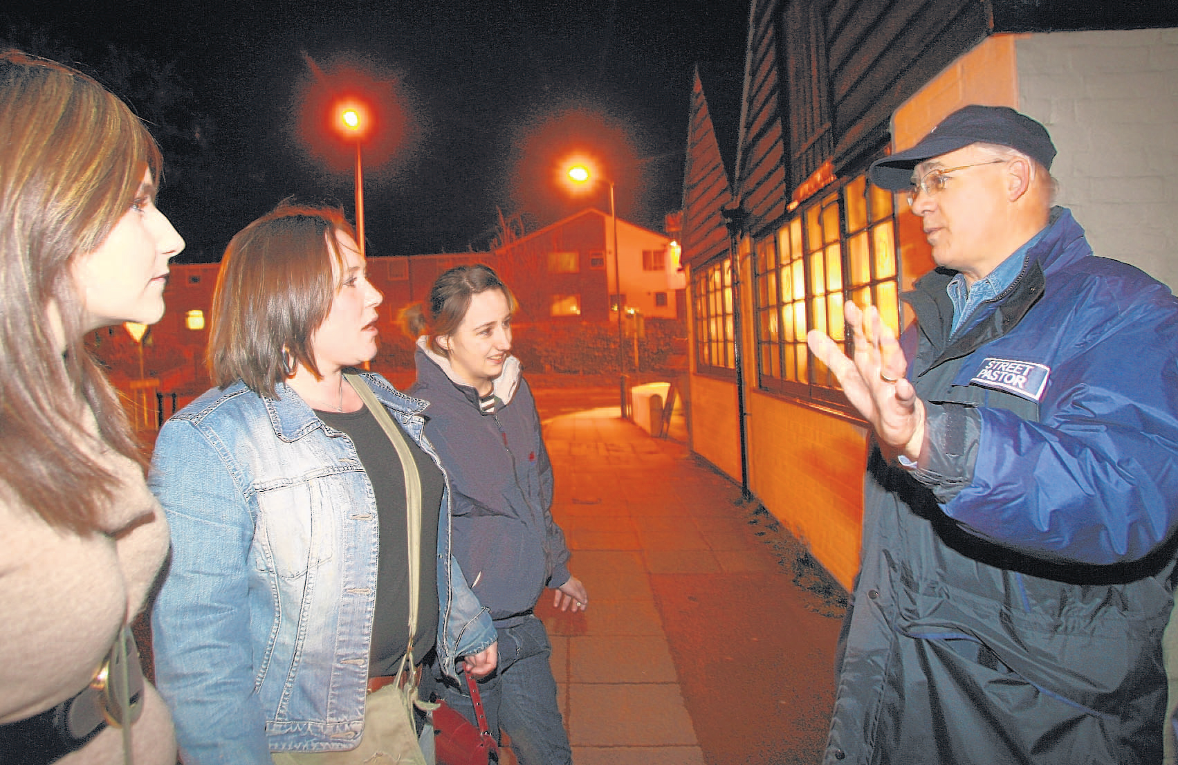 Street Pastors take to the streets between 10pm and 4am.