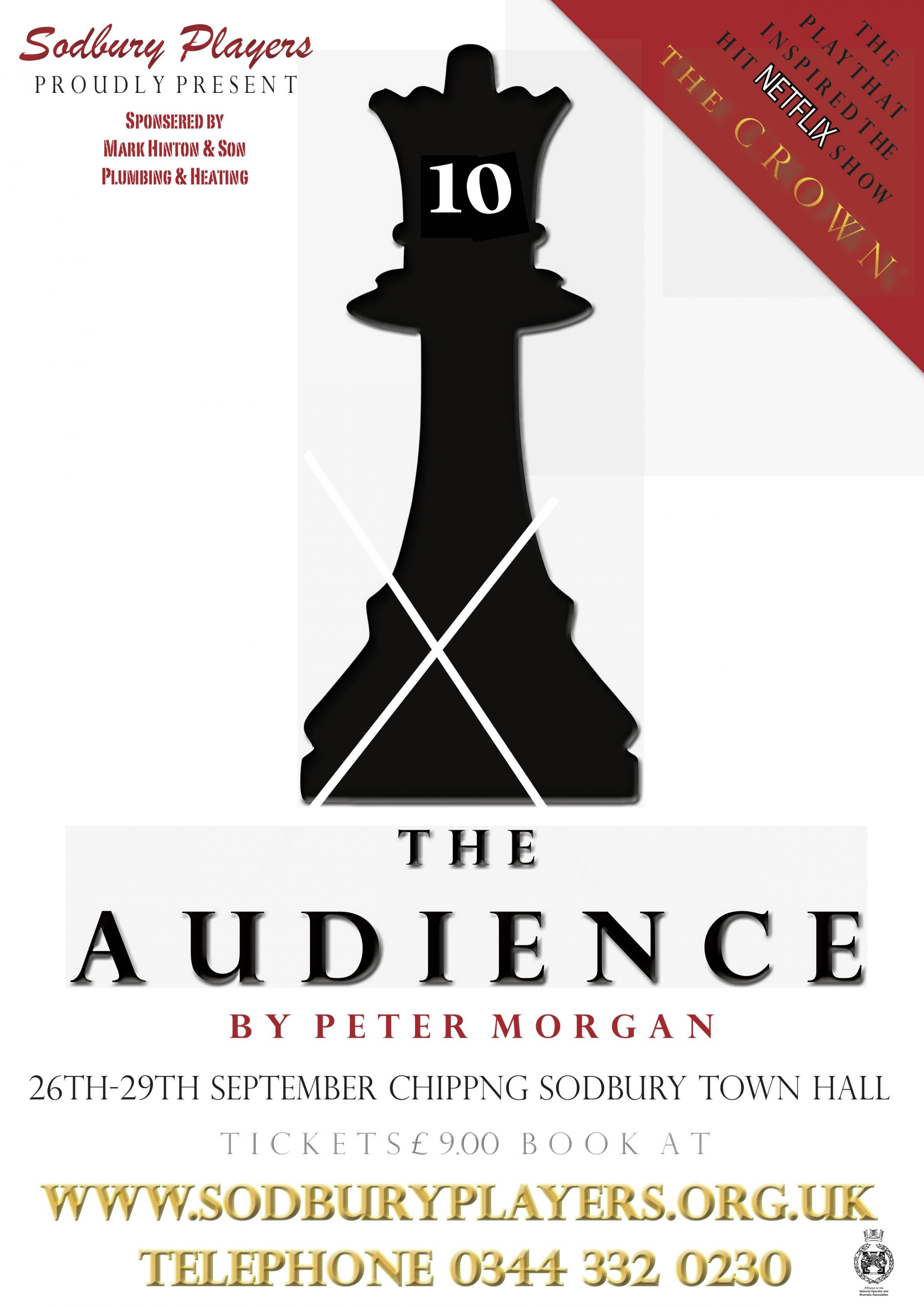 Sodbury Players present The Audience by Peter Morgan