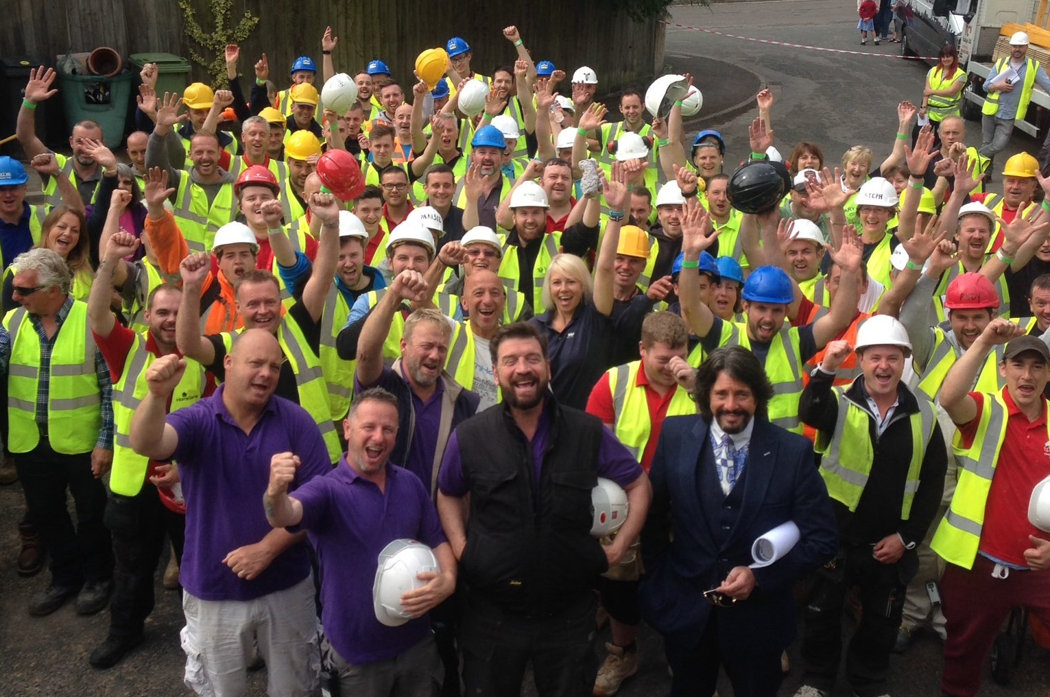 The episode of BBC television programme DIY SOS that was filmed at Ben Wernham's house in Avening will air on October 3