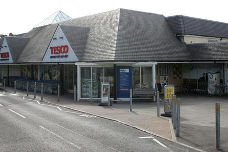 Belger had been banned from the Tesco superstore in Stroud when he was caught shoplifting from there in August