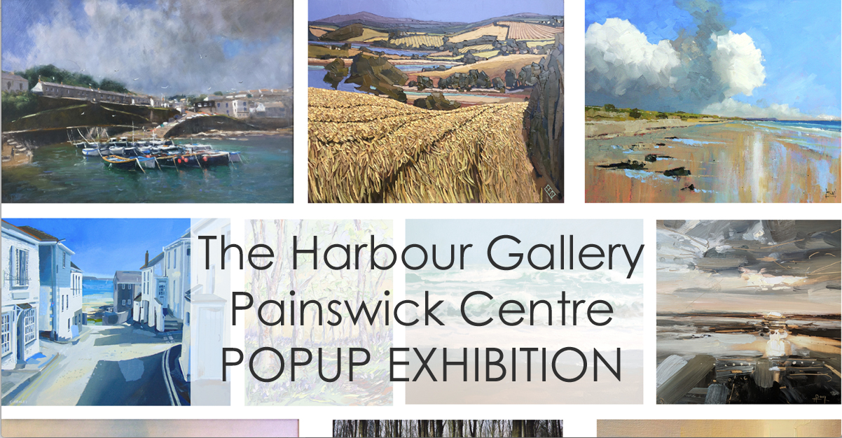 The Harbour Gallery Pop Up Painswick Exhibition