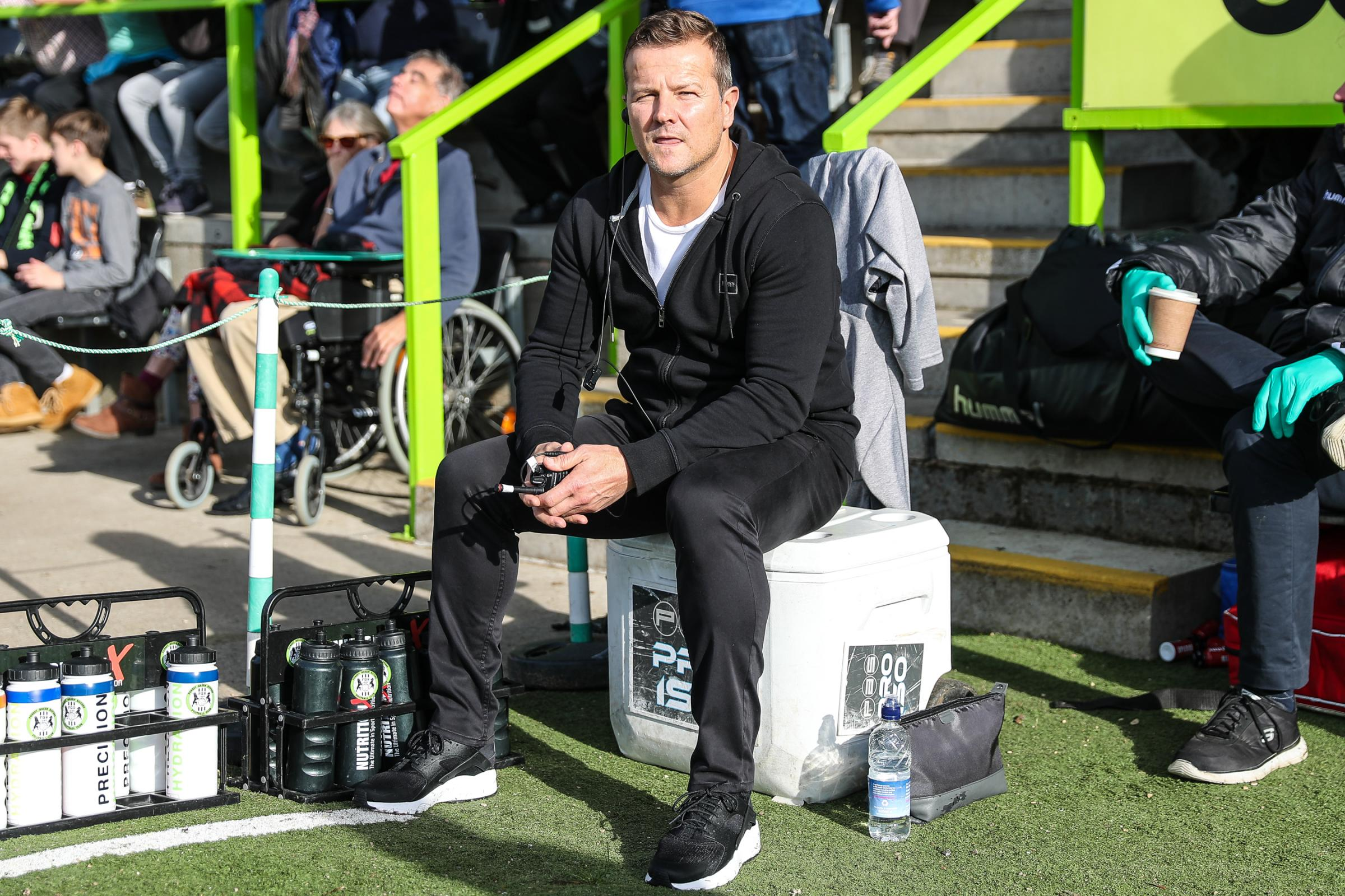 Watch FGR boss Mark Cooper's  name tonight's team to face Colchester