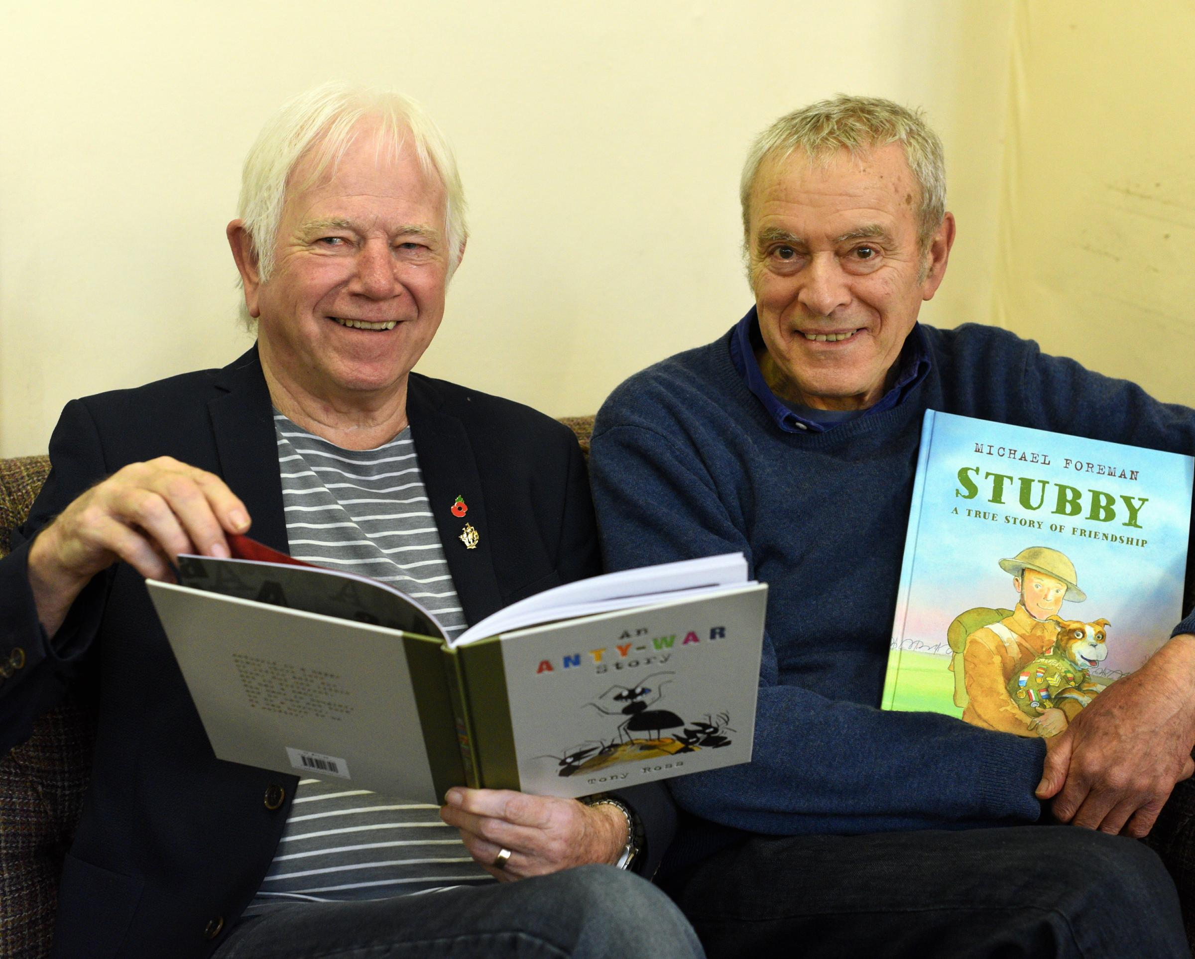 Watch two children's authors discuss their WW1 books in Stroud