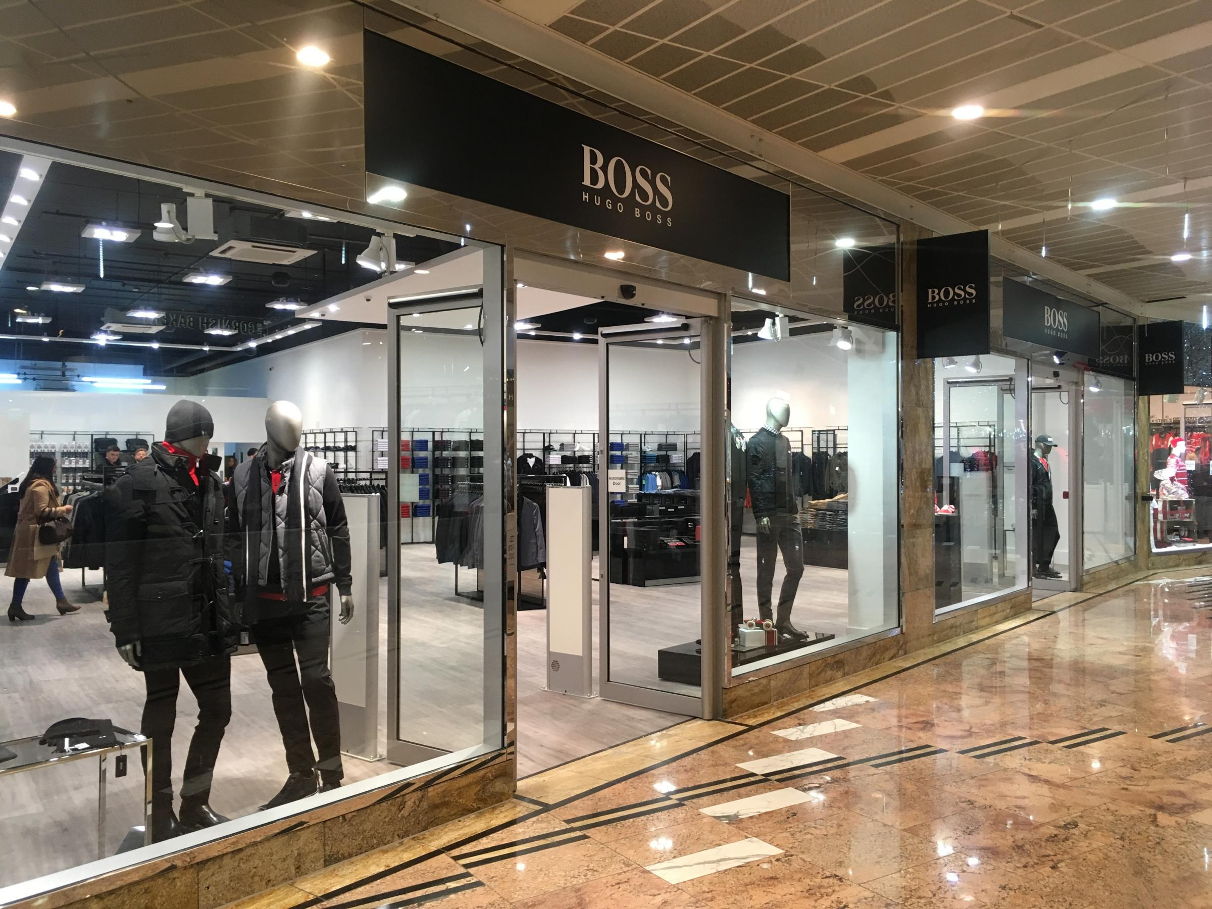 Hugo Boss at Gloucester Quays