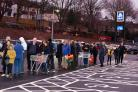 Live:  Grand opening of Aldi in Stroud