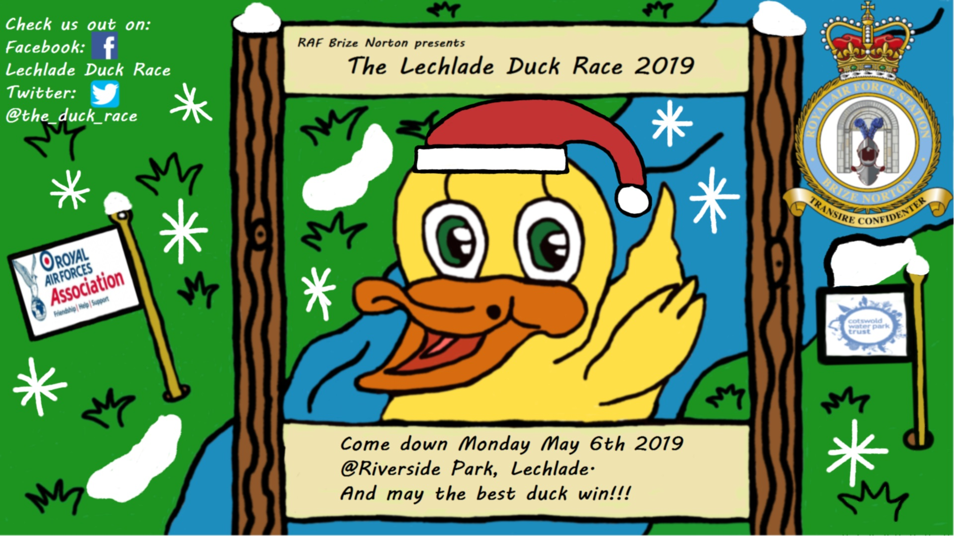 Lechlade Duck Race 2019