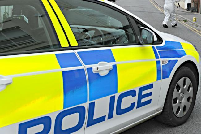 There was a burglary in Stonehouse earlier today